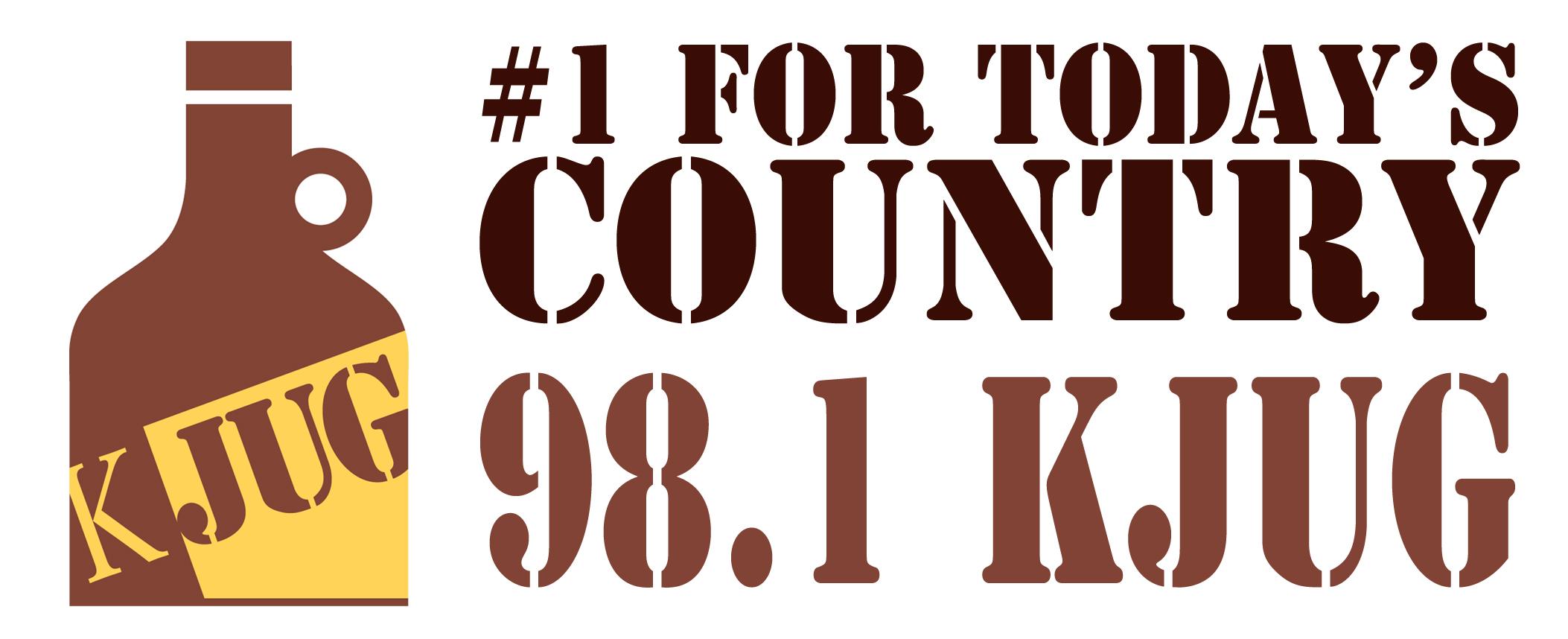 KJUG Radio Logo