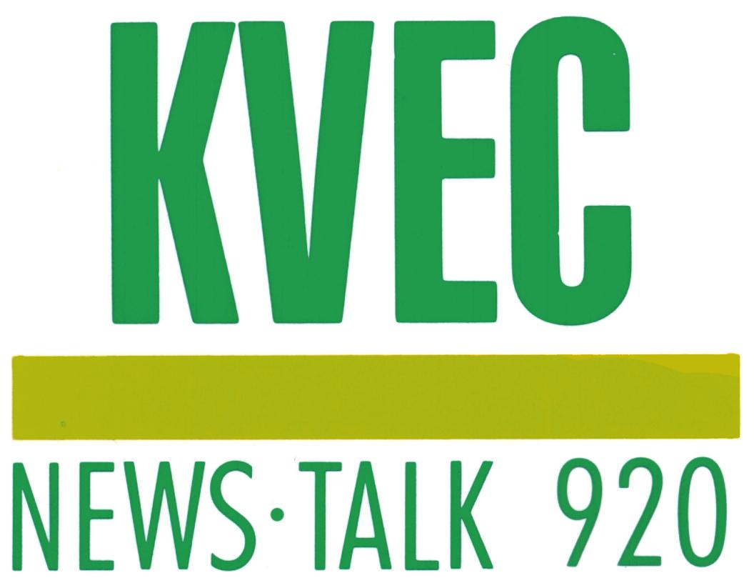 KVEC Radio Logo
