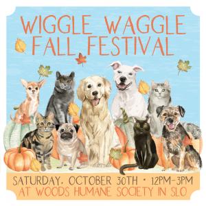 Wiggle Waggle Fall Festival October 30, 2021